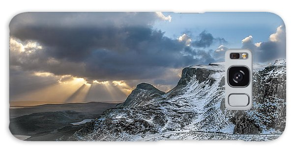 The Quiraing Just After Dawn Galaxy Case