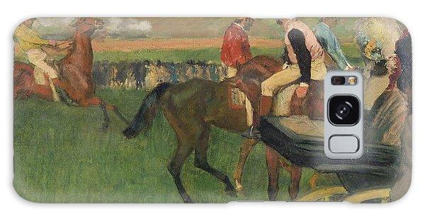 Amateur Galaxy Case - The Race Course by Edgar Degas