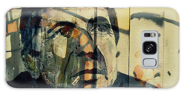 Portraiture Galaxy Case - The Rain Falls Down On Last Years Man  by Paul Lovering