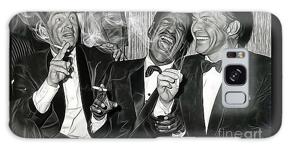 The Rat Pack Collection Galaxy Case by Marvin Blaine