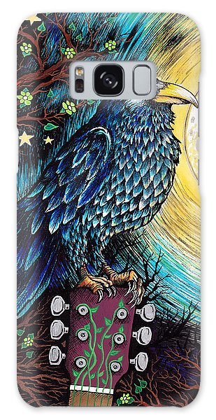 Song Birds Galaxy Case - The Raven by Julie Oakes