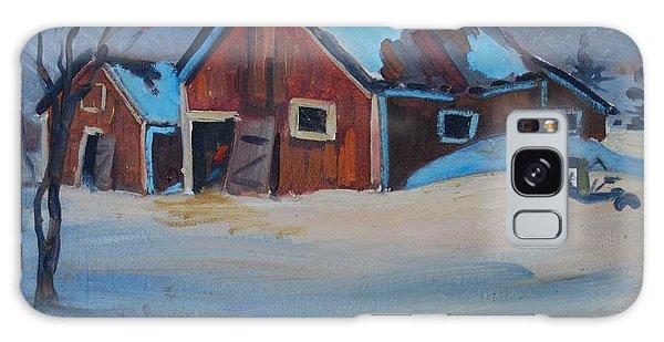 The Raymond Serre Farm Galaxy Case by Len Stomski