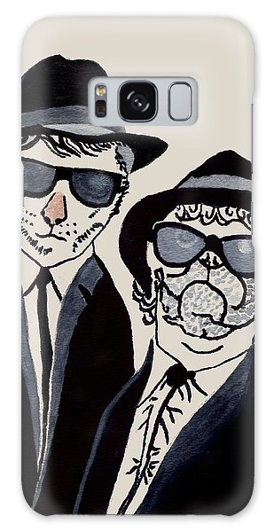 The Real Blues Brothers Galaxy Case by Connie Valasco
