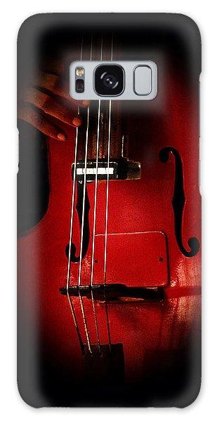 The Red Cello Galaxy Case