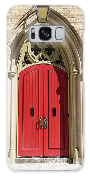 The Red Church Door. Galaxy Case