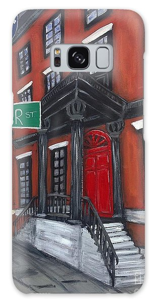 The Red Door Galaxy Case