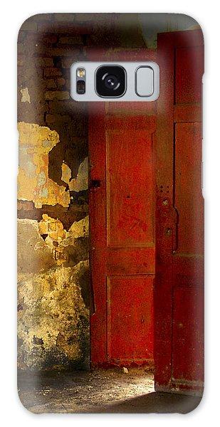 The Red Door Galaxy Case