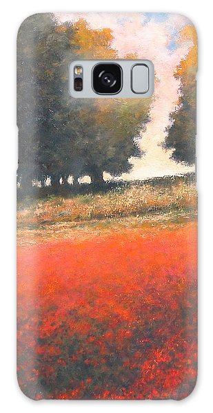 Galaxy Case - The Red Field #2 by Jim Gola