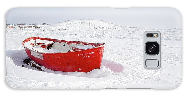 The Red Fishing Boat Galaxy Case