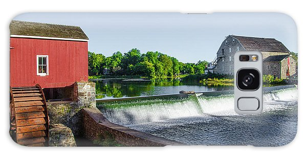 The Red Mill  On The Raritan River - Clinton New Jersey  Galaxy Case by Bill Cannon