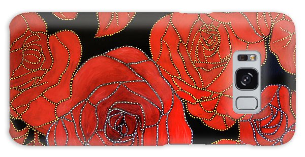 The Red Red Roses Galaxy Case