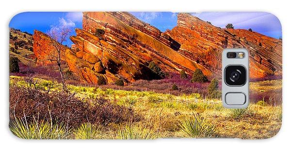 The Red Rock Park Vi Galaxy Case