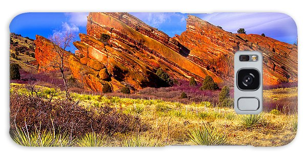 The Red Rock Park Vi Galaxy Case