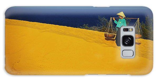 The Red San Dunes Of Mui Ne Vietnam Galaxy Case