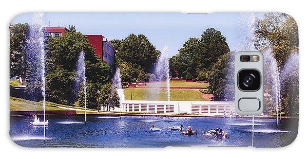 Clemson Galaxy Case - The Reflection Pond - Clemson University by Library Of Congress