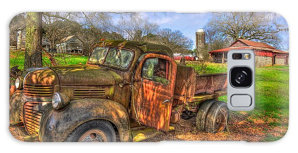 The Resting Place 1947 Dodge Dump Truck Georgia Farm Art Galaxy Case