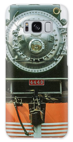Galaxy Case featuring the photograph The Restored Southen Pacific Daylight Locomotive No. 4449 by Frank DiMarco