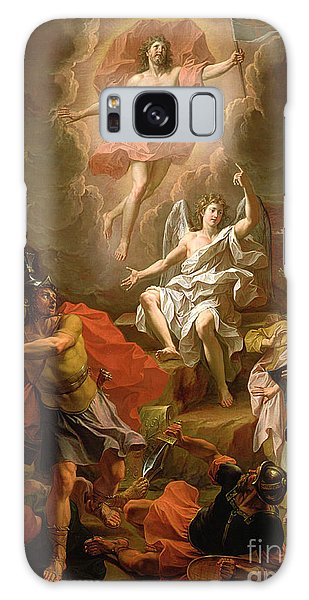 The Sky Galaxy Case - The Resurrection Of Christ by Noel Coypel