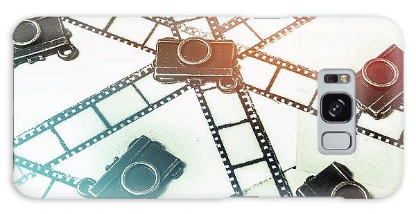 Vintage Camera Galaxy Case - The Retro Camera Reel by Jorgo Photography - Wall Art Gallery