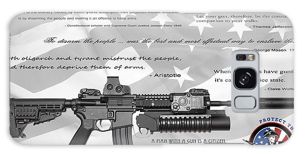 Weapons Galaxy Case - The Right To Bear Arms by Daniel Hagerman
