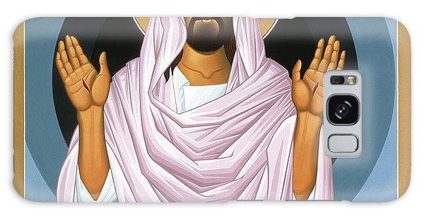 The Risen Christ 014 Galaxy Case