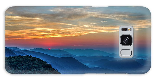 The Rising Sun Pretty Place Chapel Greenville S C Great Smoky Mountain Art Galaxy Case