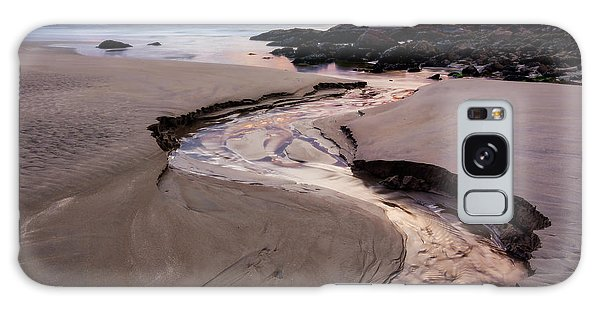 Galaxy Case featuring the photograph The River Good Harbor Beach by Michael Hubley