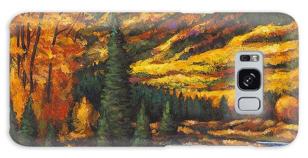 Montana Galaxy Case - The River Runs by Johnathan Harris