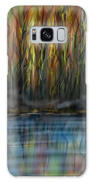 Galaxy Case featuring the digital art The River Side by Darren Cannell
