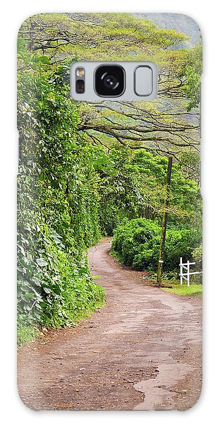 The Road Less Traveled-waipio Valley Hawaii Galaxy Case