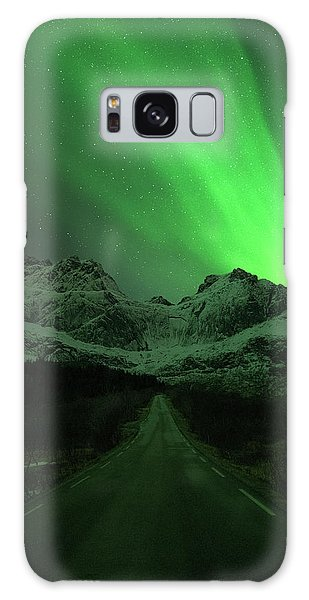Astro Galaxy Case - The Road To Nusfjord by Tor-Ivar Naess