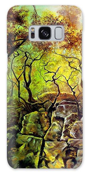 The Rocks In Starachowice Galaxy Case by Henryk Gorecki