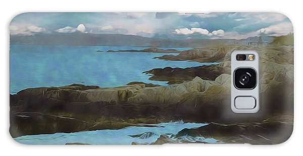 The Rocky Maine Coast. Galaxy Case