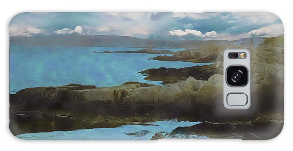 The Rocky Maine Coast. Galaxy Case