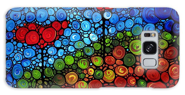 Abstract Landscape Galaxy Case - The Roots Of Love Run Deep by Sharon Cummings