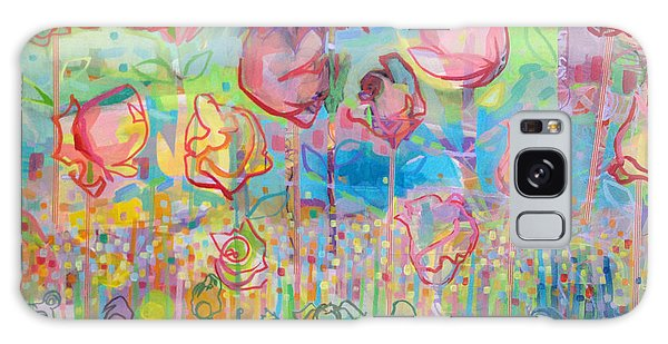Rose Galaxy S8 Case - The Rose Garden, Love Wins by Kimberly Santini