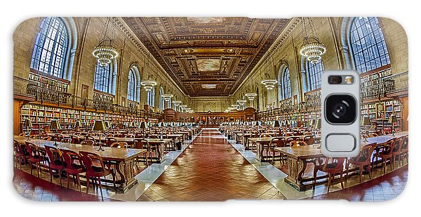 Galaxy Case featuring the photograph The Rose Main Reading Room Nypl by Susan Candelario