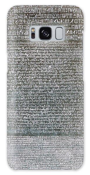 Language Galaxy Case - The Rosetta Stone by Egyptian School