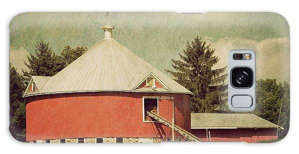 The Round Barn Galaxy Case