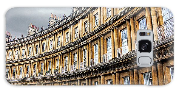 Galaxy Case featuring the photograph The Royal Crescent, Bath by Wallaroo Images