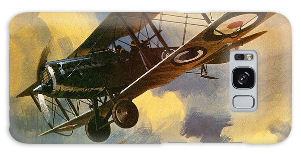 Airplane Galaxy Case - The Royal Flying Corps by Wilf Hardy