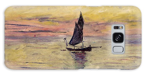 The Sailing Boat Evening Effect Galaxy Case