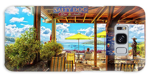 The Salty Dog Cafe St. Thomas Galaxy Case