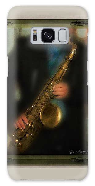 The Sax Player Galaxy Case