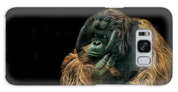 Orangutan Galaxy Case - The Sceptic by Paul Neville