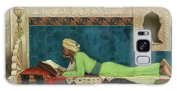 Tapestry Galaxy Case - The Scholar by Osman Hamdi Bey