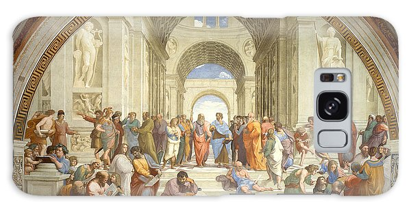 Philosopher Galaxy Case - The School Of Athens, Raphael by Science Source