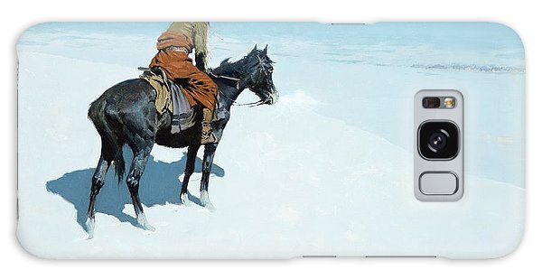 The Scout Friends Or Foes Galaxy Case by Frederic Remington