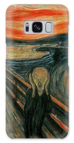 The Scream  Galaxy Case by Edward Munch