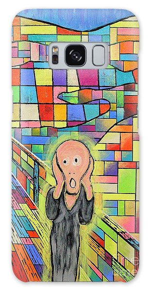 The Scream Jeremy Style Galaxy Case